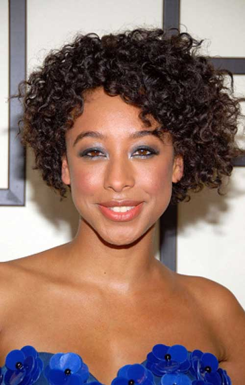 Super 15 Curly Short Hairstyles For Black Women Short Hairstyles Hairstyle Inspiration Daily Dogsangcom
