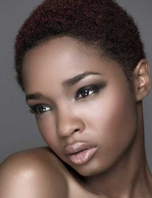Cool 15 Curly Short Hairstyles For Black Women Short Hairstyles Hairstyles For Women Draintrainus