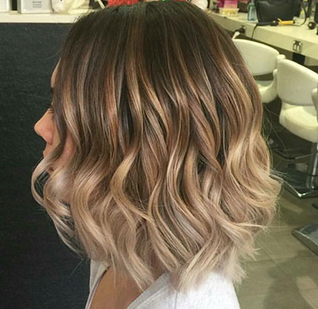 Wavy Hairstyles Short Hair 46