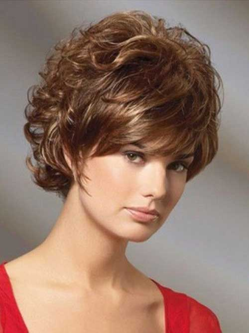Curly Hairstyles for Short Hair-10