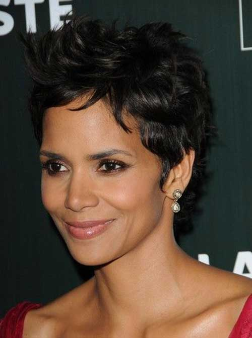 Halle Berry Short Curly Hair-10
