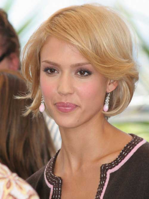Honey Blonde Short Hair 2015-11