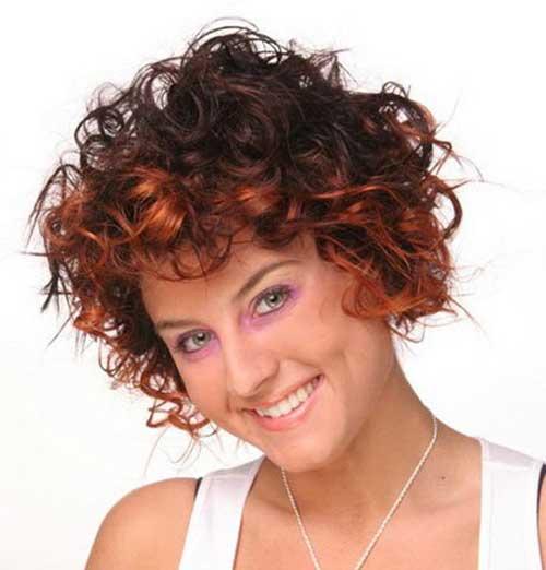 Short Curly Haircuts 2015-11