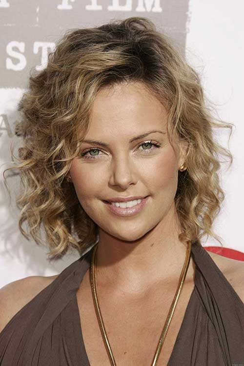 Curly Hairstyles for Short Hair-12