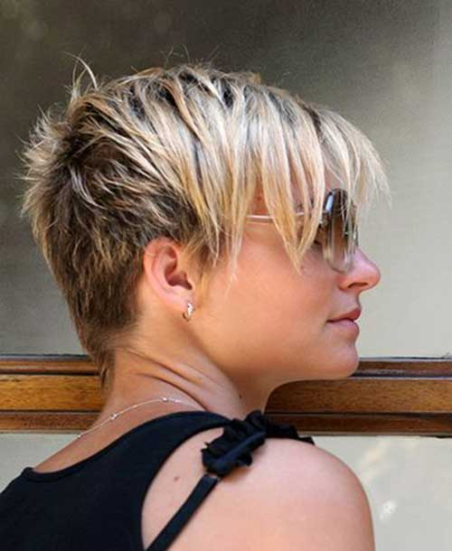 Easy Short Haircuts-12