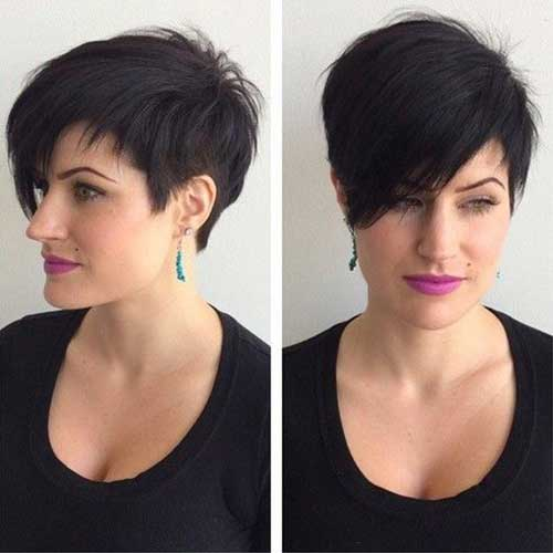 Short Haircuts with Bangs 2015-12