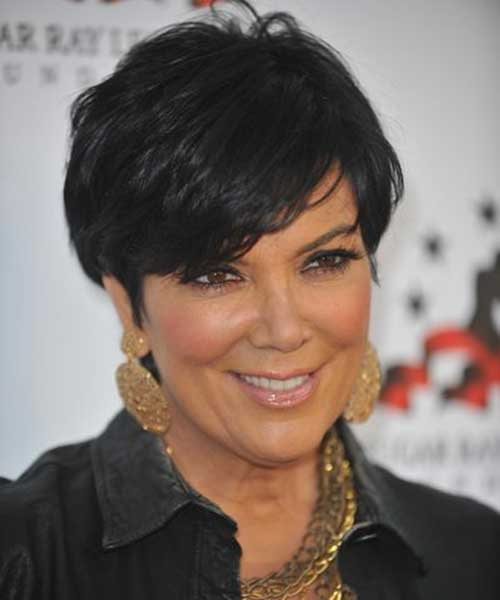 Short Hair Styles for Older Women-13