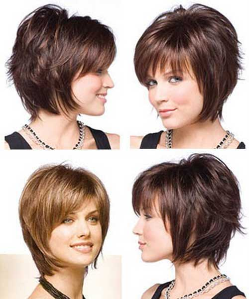 Short Haircuts with Bangs 2015-13