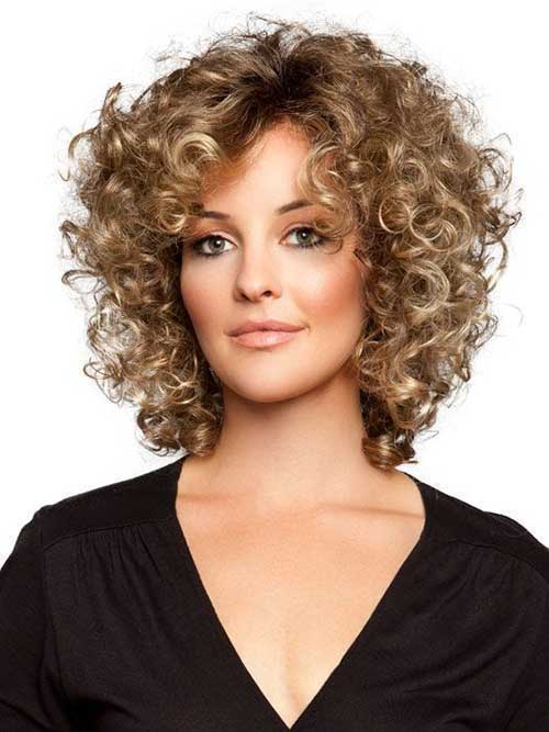 Curly Hairstyles for Short Hair-14