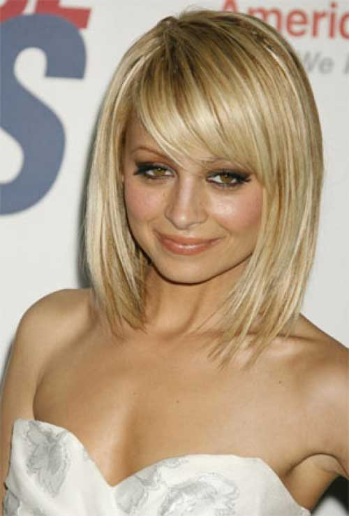 Short Hair with Straight Bangs-14