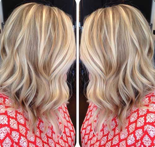 Blonde Balayage Short Hair-15