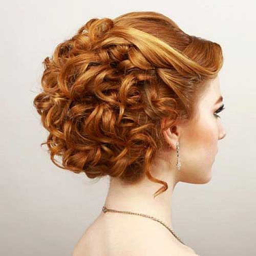 Curly Hairstyles for Short Hair-16