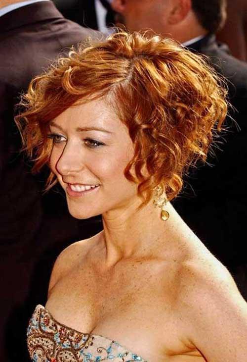 Short Curly Hair Styles 2015-16