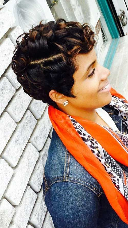 Short Hairstyles Black Women-17