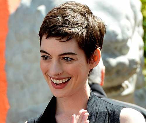20 Good Anne Hathaway Pixie Cuts Short Hairstyles