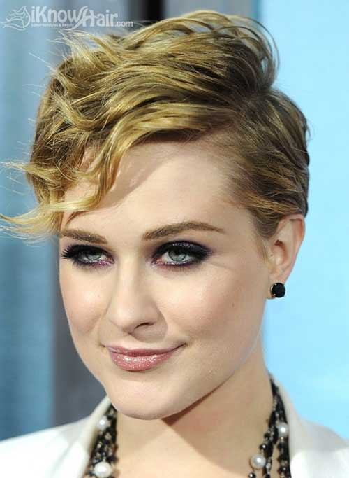 Girls Hairstyles For Short Hair-19