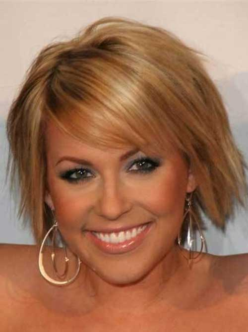 Honey Blonde Short Hair 2015-19