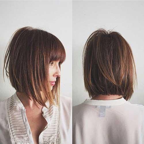 Short Haircuts with Bangs-25