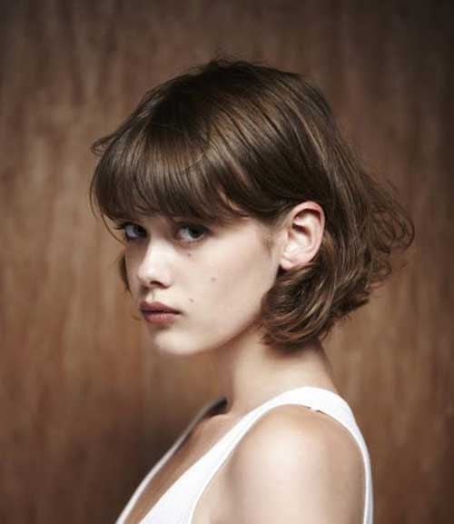 Short Haircuts with Bangs 2015-30