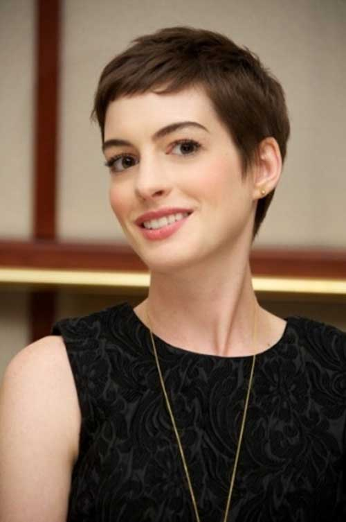 20 Good Anne Hathaway Pixie Cuts Short Hairstyles