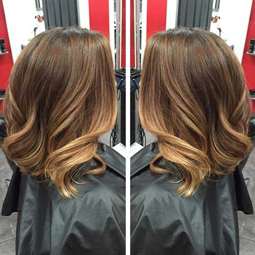 Blonde Balayage Short Hair-6