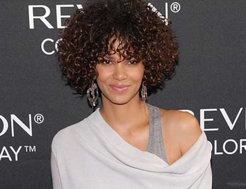 Halle Berry Short Curly Hair-6