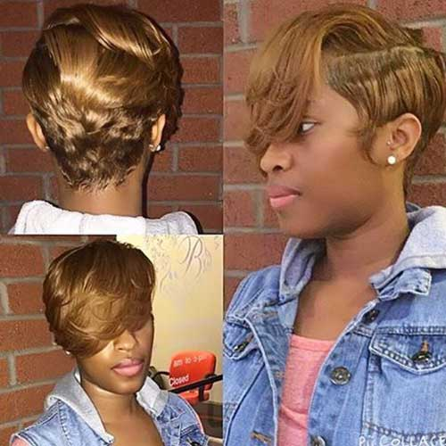 Honey Blonde Short Hair 2015-7