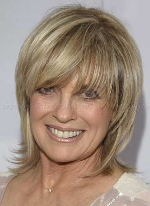 Over 50 Hairstyles jaclyn smith medium curly hair style women over 50 haircuts Short Hair Styles For Over 50 7