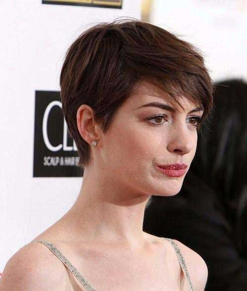 20 Good Anne Hathaway Pixie Cuts | Short Hairstyles ...
