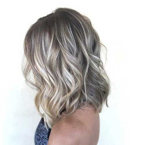 Blonde Balayage Short Hair-8