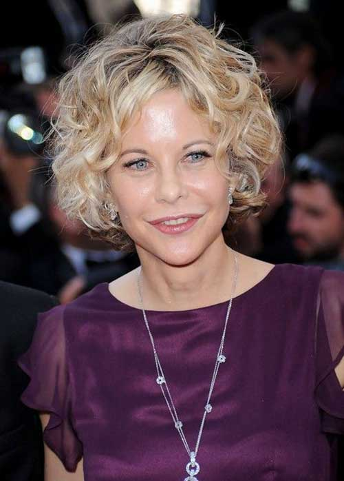 Curly Hairstyles for Short Hair-8
