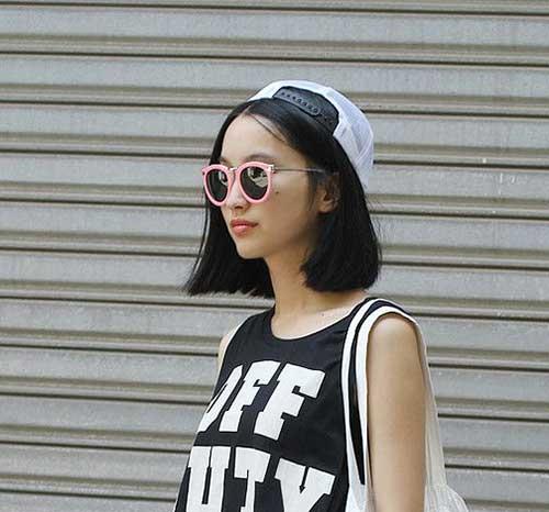Cute Girls with Short Hair-8