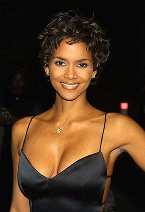 Halle Berry Short Curly Hair-8