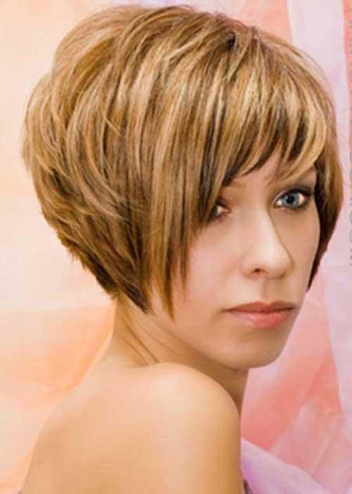Honey Blonde Short Hair 2015-8