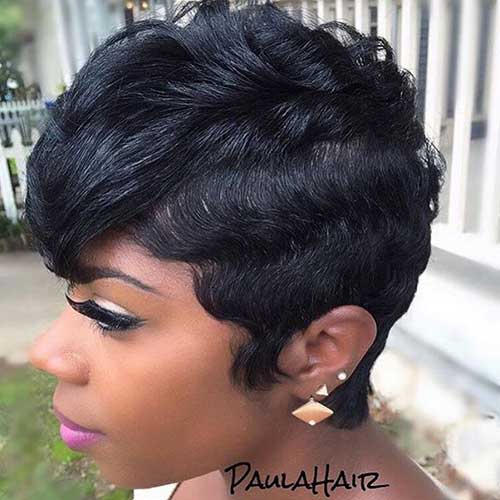 Enjoyable 20 Best Short Hairstyles Black Women Short Hairstyles Hairstyles For Men Maxibearus