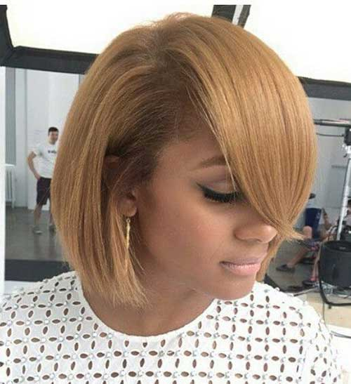 Honey Blonde Short Hair 2015-9