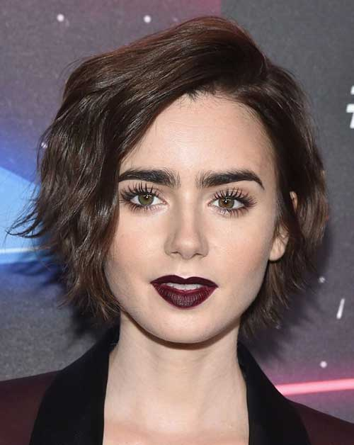 Female Celebrities with Short Hair Styles