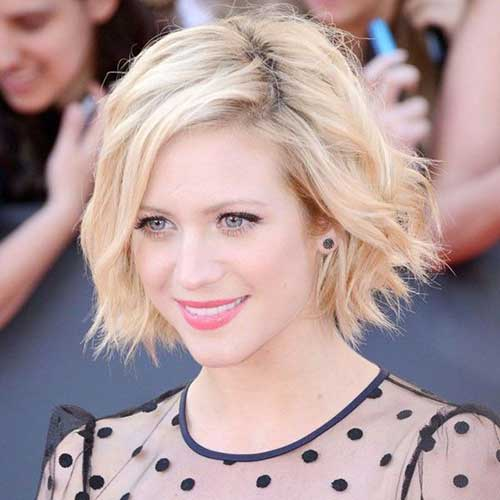 Female Celebrities Short Hair