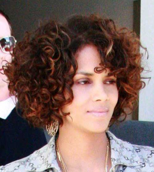 Halle Berry Short Curly Hair