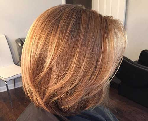 Honey Hair Color Short