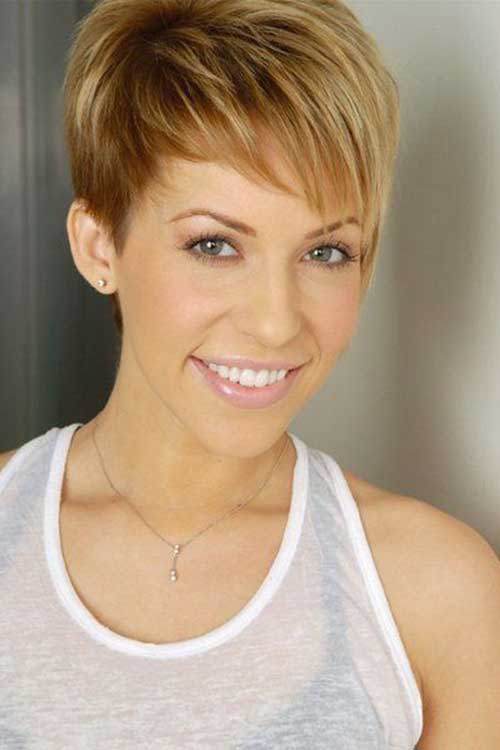 Honey Blonde Short Haircuts
