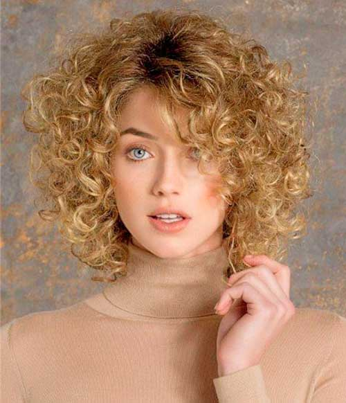 Short Curly Haircuts 2015