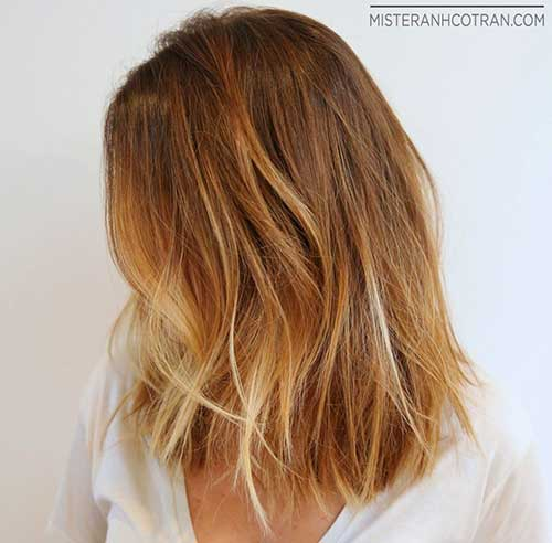 Short Honey Blonde Hair