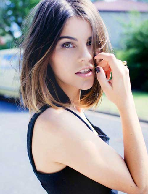 Ombre Hair Color for Short Hair-13