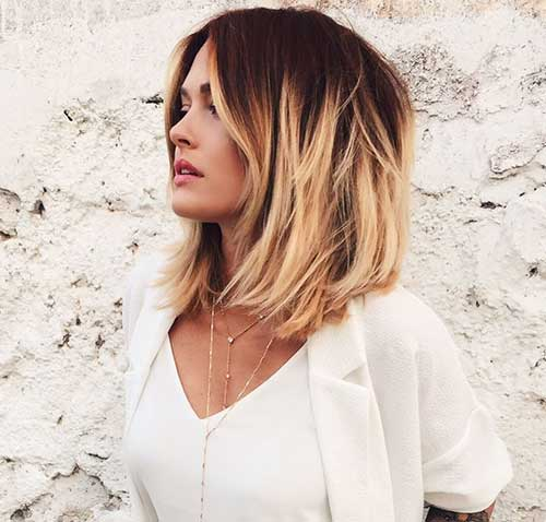 Ombre Hair Color for Short Hair-15
