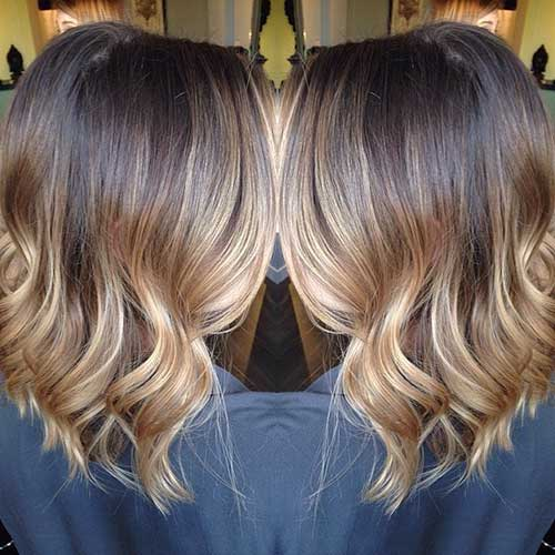 Ombre Hair Color for Short Hair-18
