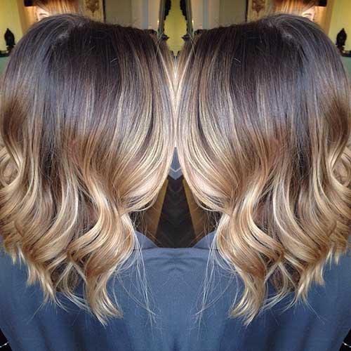 18.Ombre Color Short Hair