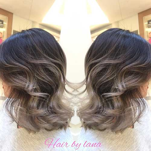 Ombre Hair Color for Short Hair-6