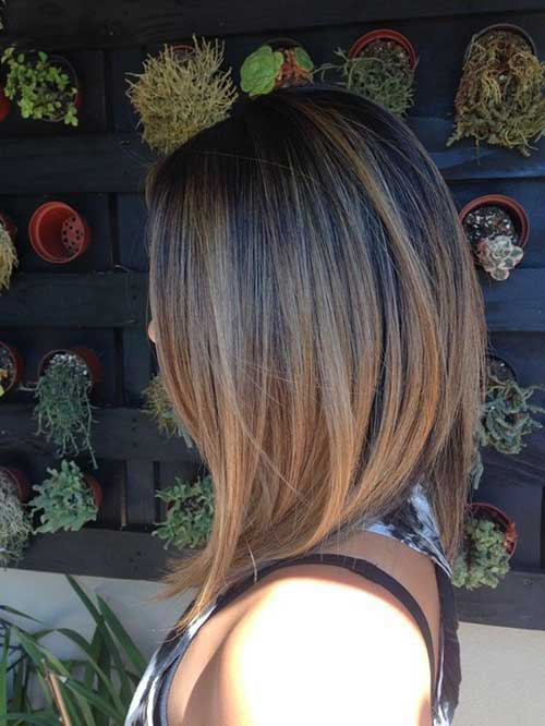 Ombre Color for Short Hair