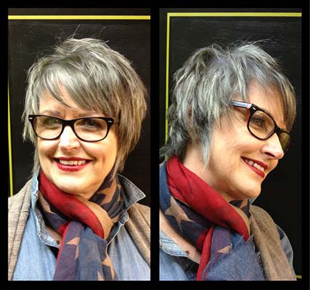 Must See Short Hair Styles For Mature Women Short